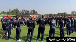 په دغو تمرینونو کې شاوخوا ۴۴ افغان لوبغاړي برخه لري