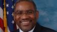 El representante Gregory Meeks expresó el apoyo a Hillary Clinton para la nominación presidencial demócratra en nombre del Black Caucus del Congreso.