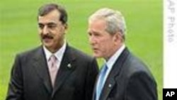 Bush Meets With Gilani