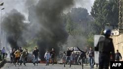 Столкновения в Алжире