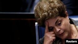 Opozvana predsednica Brazila, Dilma Rusef, avgust 2016.