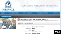 Angola Interpol Kangamba