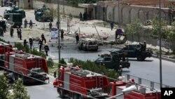در حملۀ دیروز بر ساختمان پارلمان افغانستان هفت مهاجم شرکت داشت
