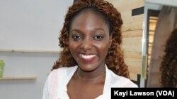 Judith Laré Gbaliboa à Lomé, le 6 mars 2019. (VOA/Kayi Lawson)
