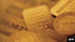 Зростає ціна золота на світовому ринку