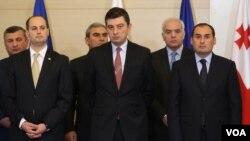Члены нового правительства Грузии