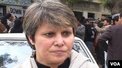 پارٹی کی نائب صدر اور رکن قومی اسمبلی بشرٰی گوہر