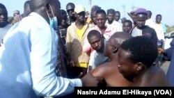 Wadanda Suka Tsira Daga Masu Satar Mutane a Hanyar Kaduna Zuwa Abuja.