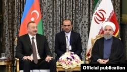 İlham Əliyev və Həsən Ruhani