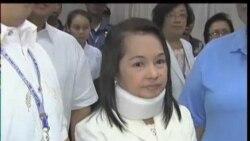 2012-02-23 粵語新聞: 菲前總統阿羅約被控操控選舉辯稱無罪