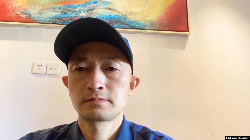 武汉肺炎疫情追责人士张海(张海提供图片)(photo:VOA)