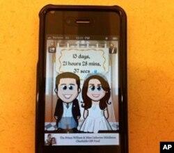 Royal Wedding App for iPhone