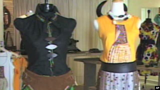 Kenyan designers are increasingly drawing on their heritage  to create clothing that fuses Kenyan and western styles.