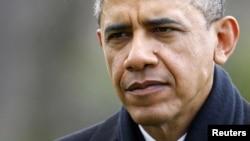 美國總統奧巴馬星期四從夏威夷返回白宮