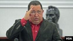 Presiden Venezuela Hugo Chavez kembali menjalani pembedahan tumor pada panggulnya di Havana, Kuba (28/2).