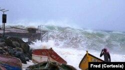 Furacão Fred atinge Cabo Verde