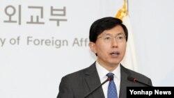 조준혁 한국 외교부 대변인.