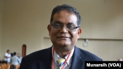 Prof. Amitav Acharya Ketua Pusat Kajian ASEAN American Universty di Washington, D.C.(Foto: VOA/Munarsih)