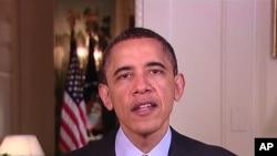 奧巴馬呼籲使用潔淨能源。