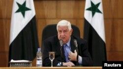 ولید المعلم وزیر امور خارجه سوریه - آرشیو