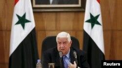 Wezîrê Derve yê Sûrîyê Welîd Mualîm