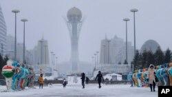 Astana, Kazakhstan le 25 janvier 2017.
