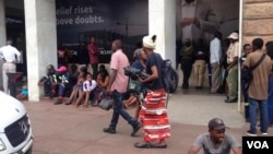 Bulawayo Cash-Bank queues