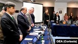Los miembros del organismo también dedicaron algunas palabras de solidaridad al pueblo de Venezuela.