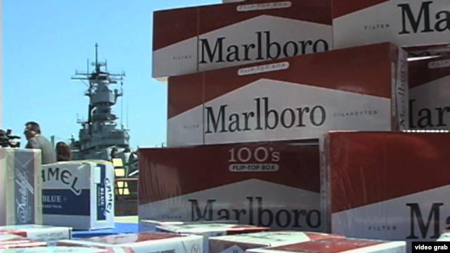 Policija tvrdi da su u nekim falsifikovanim cigaretama pronađene fekalije