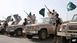 اردوی پاکستان هم اکنون سرگرم انجام عملیات ضرب عضب در وزیرستان است