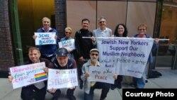 Hedi Yunus foto bersama Komunitas Yahudi kota New York (foto: courtesy).