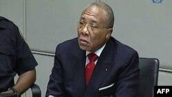 Mahkamah Khusus Sierra Leone mengadili mantan Presiden Liberia Charles Taylor karena mendukung pemberontak (foto: dok).