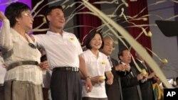 台湾民进党政要在代表大会上