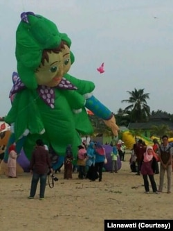 Layang-layang Peter Pan. (Foto: Courtesy/Lianawati)