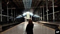 葡萄牙罷工擾亂了火車服務