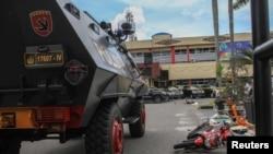 印度尼西亞蘇門答臘島上的一個警察站星期三受到襲擊,一名警察喪生。