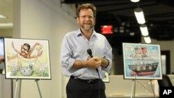 Matt Wuerker, salah seorang karikaturis piawai andalan situs Politico. com.