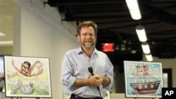 Mat Vurker, dobitnik Pulicerove nagrade za političku karikaturu 2012.