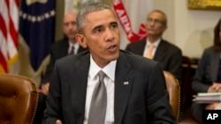 奧巴馬出席會議時表達了美國對抗伊波拉的政策