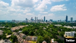 Місто Атланта, столиця штату Джорджія