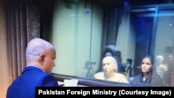 Kulbhushan Jadhav allowed to meet with wife and mother