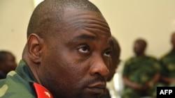 Le général Germain Katanga assis au tribunal militaire de Kinshasa, le 3 février 2016.