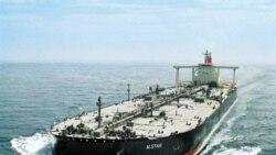 تحقيقات در مورد علت انفجار در نفتکشی که از خليج فارس رهسپار ژاپن بود، آغاز شد