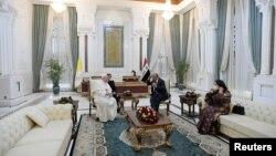 د عراق صدر ابراهيم صالح د پوپ فرانسيس سره ولیدل