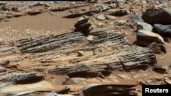 د مریخ د مځکي یوه عکس چي ناساخپور کړ