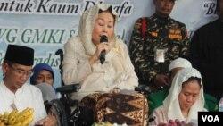 Mantan Ibu Negara Shinta Nuriyah Abdurrahman Wahid akan bersikap netral dalam Pilpres 2019. (foto: dok)