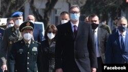 Ministar odbrane Kine i predsednik Srbije u Beogradu (foto: Fejsbuk/Aleksandar Vučić)