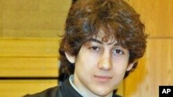 Tersangka pembom marathon Boston, Dzhokhar Tsarnaev (foto: dok).