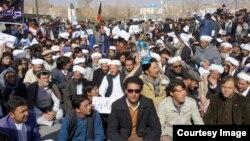 اعتراض مردمی در غور از سه روز بدینسو جریان دارد