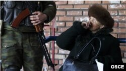 Фото зроблене СММ ОБСЄ на Донбасі